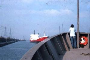Oceanus in the Welland Canal, Bow Lookout