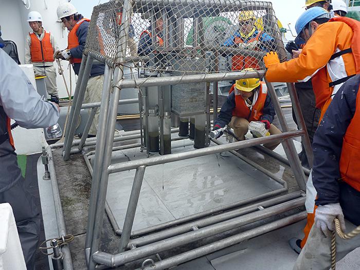 Fukushima sediment samples