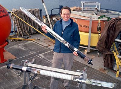 Philip Richardson and RAFOS float