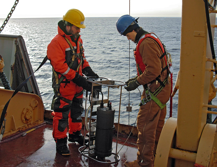 Arctic carbon sampling