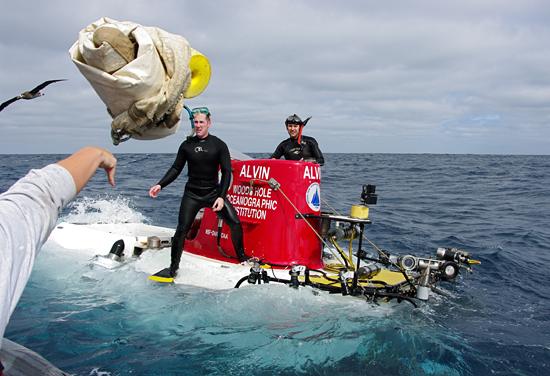 sea anchor toss to alvin