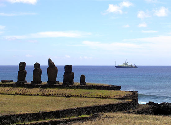 Atlantis and Easter Island