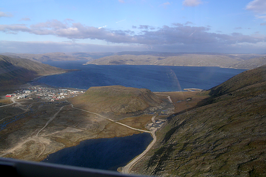 The village of Kangiqsujuaq in northern Quebec (population less than 500) is nestled on a deep bay off Hudson Strait.
