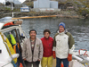 WHOI researchers in Greenland