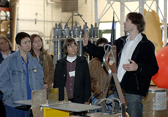 Bi-annual WHOI Teachers Workshop in March 2007.
