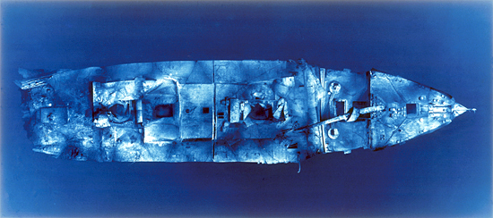 titanic mosaic