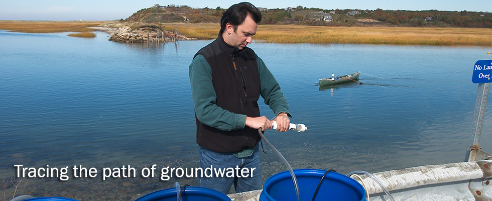Tracing the path of groundwater