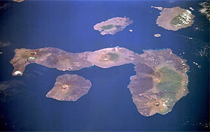 western and central Galapagos Islands