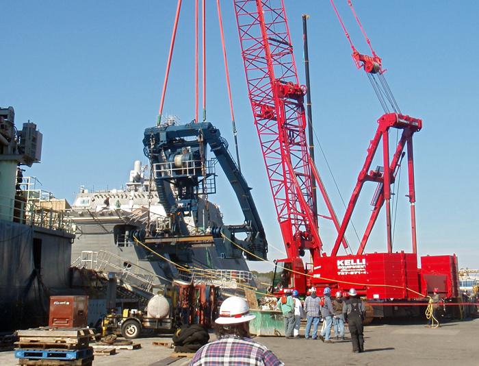 Atlantis a-frame removal