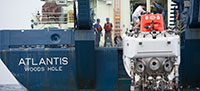 Atlantis and Alvin