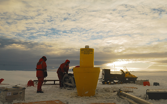 first itp deployment antarctica