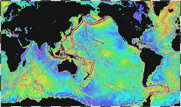 Topographic Map Of Ocean Floor.Exploring Hydrothermal Vents Vent Technology
