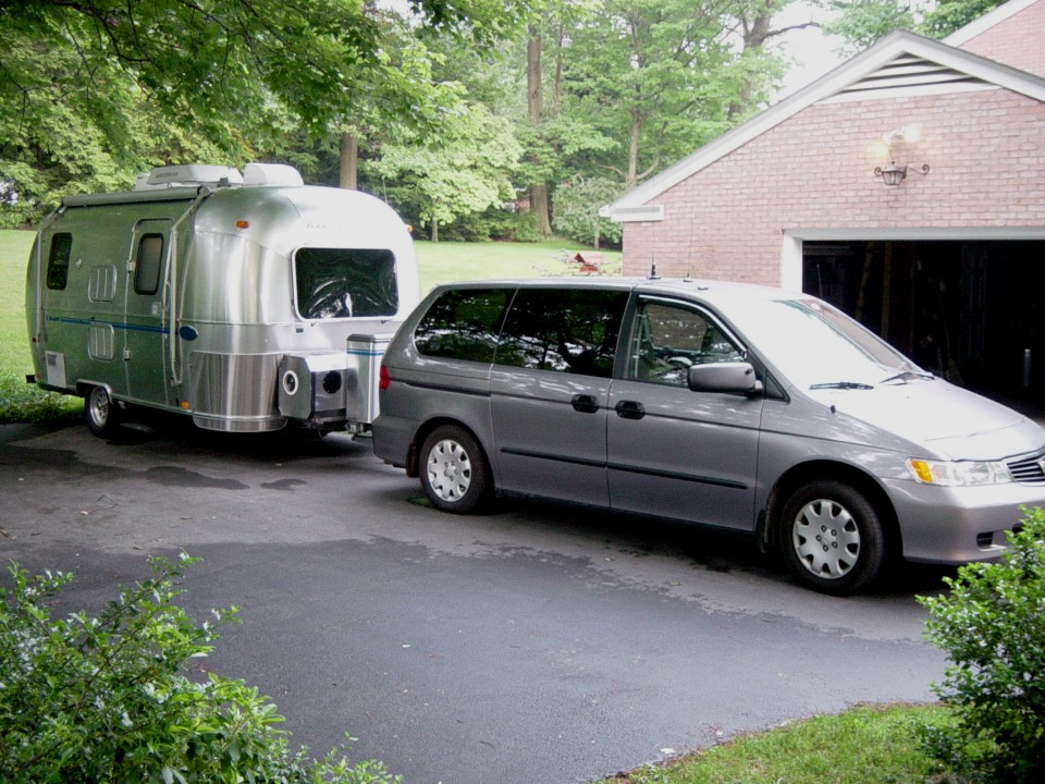 honda odyssey trailer towing package