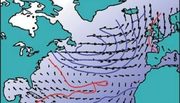A Century of North Atlantic Data Indicates Interdecadal Change