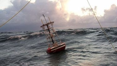 Throwing DART Buoys into the Ocean