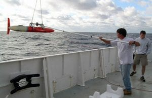 A Glide Across the Gulf Stream