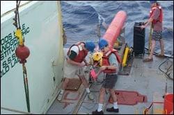 HRP on deck with Schmitt