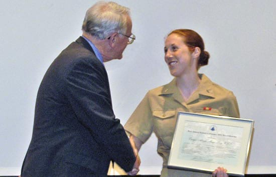 Pittenger Fellowship Awarded to Naval Graduate Student