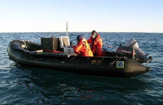 Seafloor Reconnaissance Reveals Hidden Dangers Off Antarctica