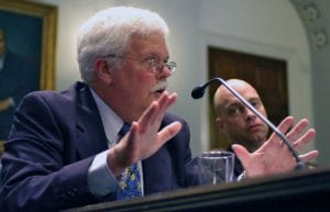Joyce, Evans Give Testimony on Oceans to Congress