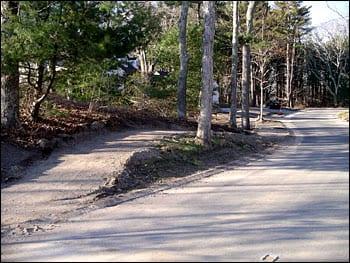pedestrian pathway