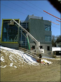 Biogeochemistry Building March 2005 west elevation
