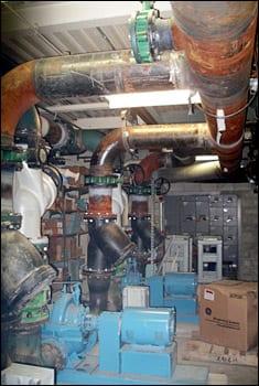 condenser water pumps
