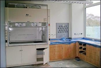 Marine Research Facility laboratory