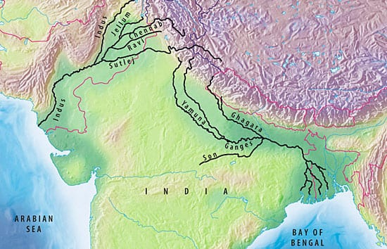 Changing the Course of Rivers and History – Woods Hole ... on deccan plateau map, tigris river map, amur river map, godavari river map, malabar coast map, krishna river map, mekong map, rio grande river map, great indian desert map, hindu kush map, korean peninsula map, sea of japan map, india map, tigris and euphrates map, gangus river map, ganges map, brahmaputra river map, bay of bengal map, yangtze map,