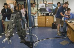 Students Visit the Deep-sea Robot They Named