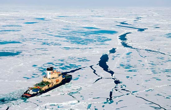 Summer Under Arctic Ice
