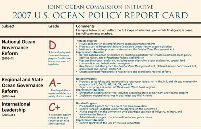 A Sea Change in National Ocean Policy?