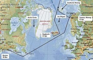 Knorr Skirts Ice to Search for 'Arctic Haze'