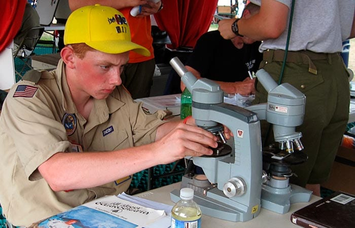 Boy Scouts Get a Taste of Oceanography