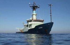 Adieu to the Research Vessel Oceanus