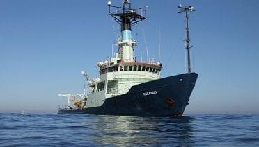 Adieu to the Research Vessel Oceanus