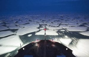 Into the Dark and Ice