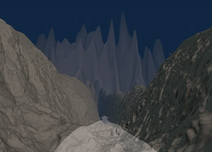 Deep-sea gorges