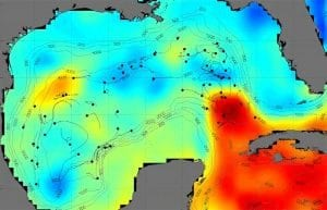 Hidden Currents in the Gulf of Mexico