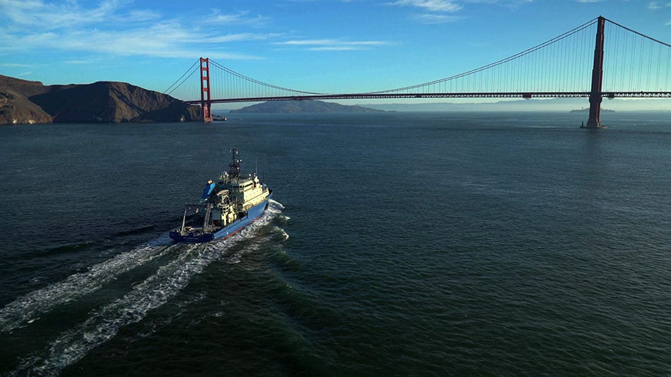 San Francisco Is First Port of Call for Nation's Newest Research Ship