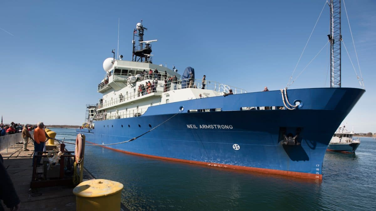 R/V Neil Armstrong Arrives in Woods Hole