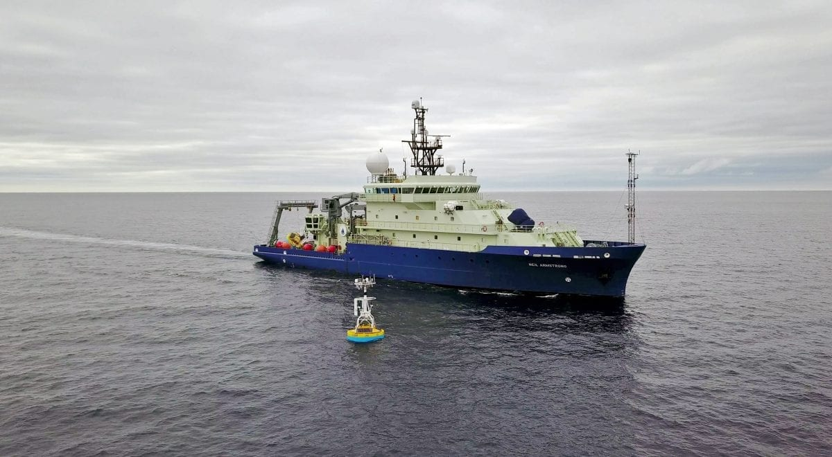 WHOI-operated research vessel Neil Armstrong