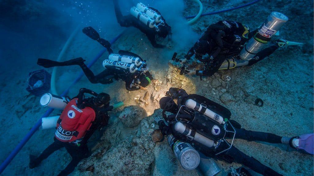 Ancient Skeleton Discovered on Antikythera Shipwreck