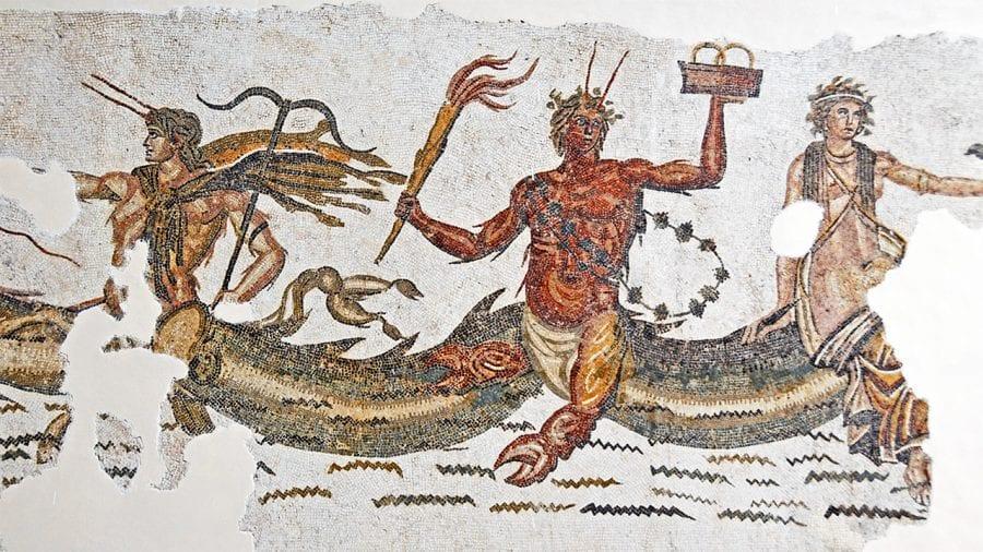 Primordial sea god in Greek mythology, Phorcys