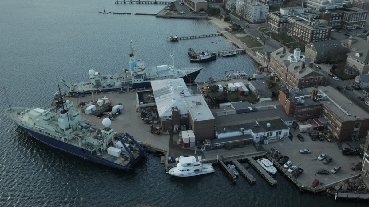 Town of Falmouth and WHOI Win Seaport Economic Council Grant