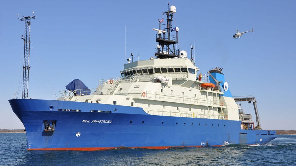 Woods Hole Oceanographic Ship Neil Armstrong to Participate  in Fleet Week New York
