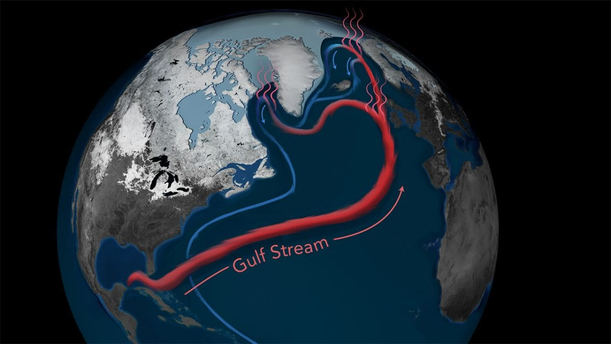 Atlantic Ocean Circulation at Weakest Point in 1,600 years