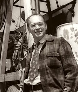 """Bostwick H. """"Buck"""" Ketchum (Photo courtesy of WHOI Archives)"""