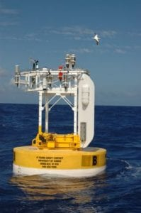 The ASIMET system consists of seven modular sensors that can be mounted on ocean buoys or ships. (Photo by Sean Whelan, Woods Hole Oceanographic Institution)