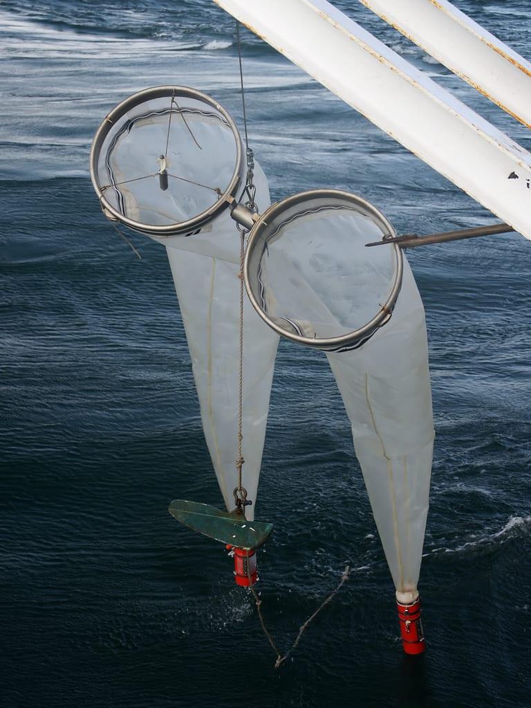 Bongo paired zooplankton net